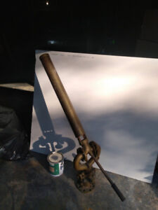 antique (ship's) brass water cannon