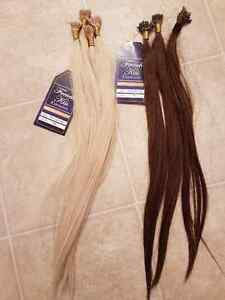 I-Tip 18in Hair extensions with accessories Edmonton Edmonton Area image 1
