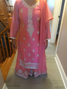 Palazzo Indian Suit