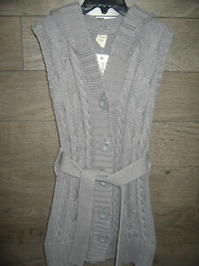 Girl's 8 (Old Navy) Long Sweater Vest