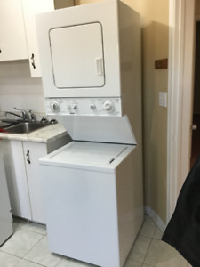 Apartment Size Stacked Washer/Dryer
