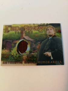 Carte Lord Of The Rings Trilogy Chrome Sams Elven Tunic Card