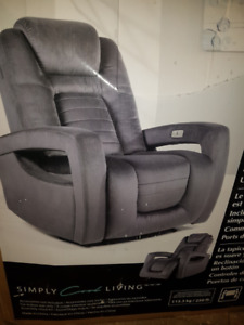 Power/Electric Chair Recliner with USB Charging port