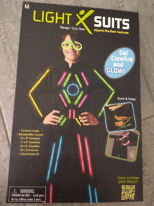 BRAND NEW! Light Suit DIY Kids Lightsuit Halloween Costume