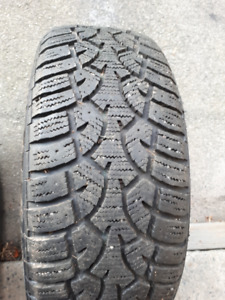 4 tires General  Altimax winter tires 205/60r16