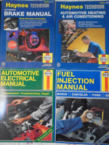 Haynes Automotive Brake Electrical AC Manual Techbooks