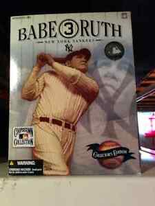 """New & Unopened McFarlane """"Babe Ruth""""action figure."""