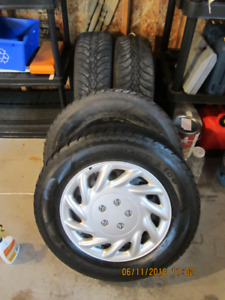 Winter Tires - Good Year Ultra Grip Ice - 225/65R 16""