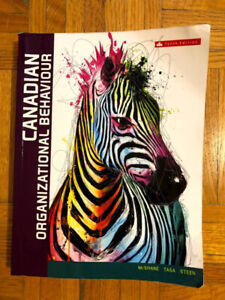 Canadian Organizational Behaviour 10th Edition in good condition