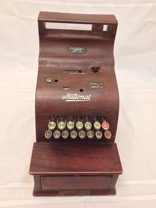 Vintage National Cash Register