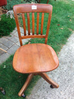 ANTIQUE DESK CHAIR