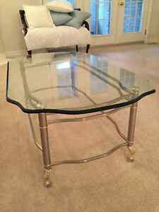 Glass Coffee Table, End Table, Sofa Table