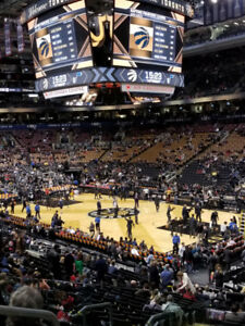***LOWER BOWL 2018/19 TORONTO RAPTORS FULL SEASON TICKETS ALL GA