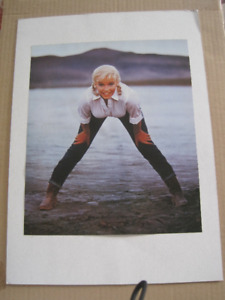 Marilyn Monroe - Two Sided Magazine Page
