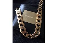 "9ct Gold Curb Chain. Monster 8oz. 240g. 24""."