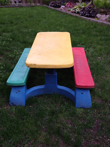 Fisher Price Children's picnic table