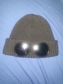 CP Company Goggle Beanie Hat Black