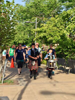 Bagpiper and/or Drummer available to hire for all occasions!