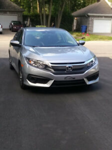 REPRISE DE LOCATION HONDA CIVIC SE 2018  $322  TAX IN MENSUEL