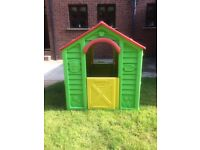 Garden toy house /shed