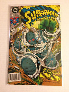 Superman the man of steel #18 ( 1st full app of doomsday)