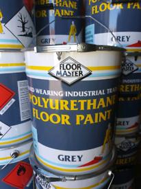 ✅ floor master floor paint 20lt Drums RED OR GREY