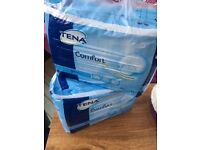 Tena comfort x 2 packs