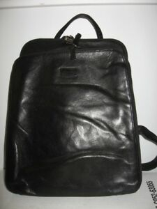 PERLINA soft LEATHER backpack purse