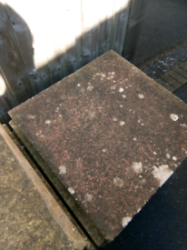 Selection of Mixed Coloured Paving Slabs