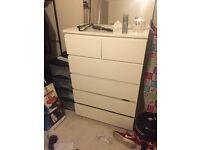 IKEA malm 6 chest of drawers