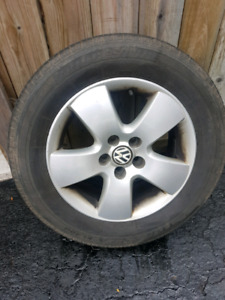 VW JETTA/ GOLF rims and tires