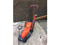 Flymo lawn mower in excellent condition only been used twice