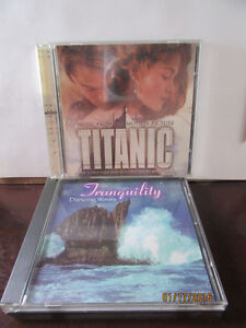 TITANIC DOUBLE VHS $2 AND/OR CD $2