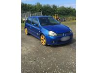 Clio 172 cup breaking