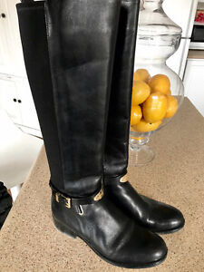 Gorgeous Black Michael Kors Boots (BRAND NEW)