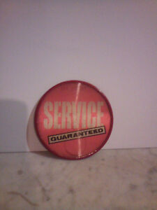 Vintage Supertest gas attendants button