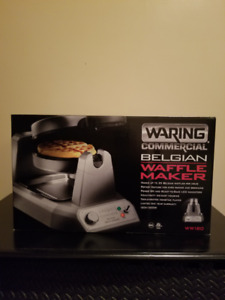 100% NEW WARING SINGLE WAFFLE MAKERS 4 SALE PLUS MORE SEE AD