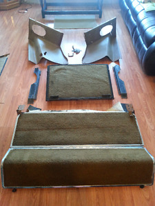 Full fold down seat for 1972 Mustang