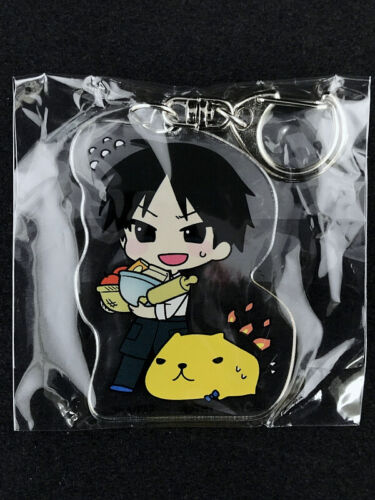 Fullmetal Alchemist Acrylic Key Holder Ring Collabo-Cafe Kapibara Roy Mustang