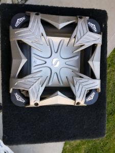 Kicker L5 Subwoofer & Rockford-Fosgate Punch P-325.1 Amplifier