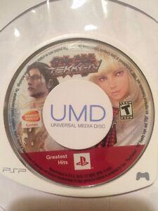 Tekken: Dark Resurrection Sony Portable PSP, UMD Game Disc