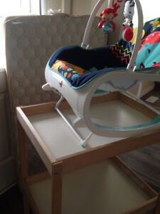 Diaper Change Table with FREE Baby Chair