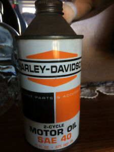 VINTAGE HARLEY DAVIDSON 2-CYCLE OIL CAN