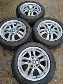16ins BMW 3 series, style 154, E90 alloy wheels (338)