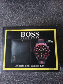 Hugo Boss watch/wallet