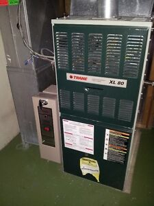 Trane 2 stage mid efficiency furnace XL 80: 80,000 BTU/h Edmonton Edmonton Area image 1