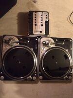 Stanton Turntable Set & Mixer
