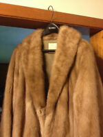 MINK FUR 3/4 LENGTH COAT