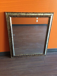 Decorative mirror 2ft by 2ft 4in