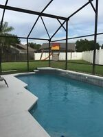 Kissimmee vacation pool home